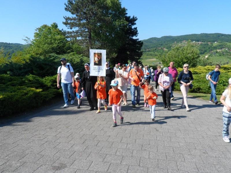 Hodočašće katoličkih vrtića na Mariju Bistricu