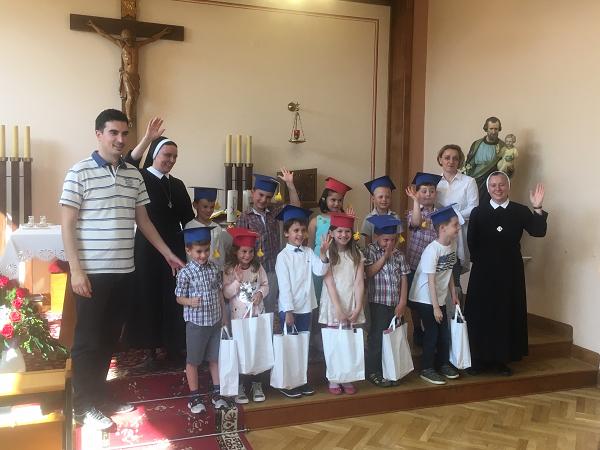 Zahvalna sveta misa za predškolce