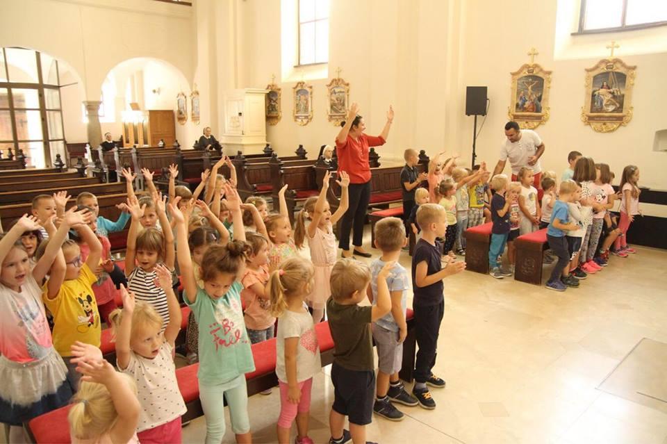 Najmanji Križevčani na misnom slavlju povodom početka pedagoške godine